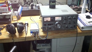 "My ""New"" Kenwood TS-520"