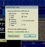 HDSDR DDE Settings