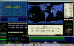 HDSDR and Orbitron while PhoneSat is in view